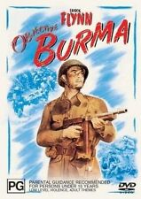 Errol Flynn Objective Burma Region 4 DVD VGC