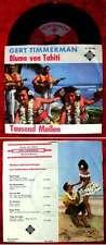 Single Gert Timmerman: Blume von Tahiti (Telefunken U 55 356) D