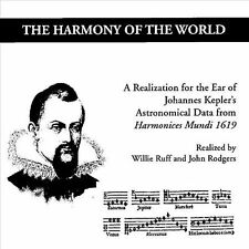 Willie Ruff-The Harmony of the World: A Realization for the Ear of Johann CD NEW