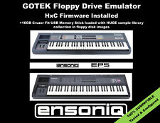Floppy Drive Emulator HxC Firmware for ENSONIQ EPS & EPS16 + SAMPLE LIBRARY