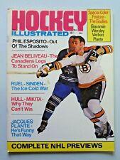Vintage HOCKEY ILLUSTRATED Magazine November 1969 Phil Esposito Cover 286
