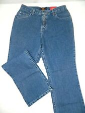 Fit 28x30 Petite New Route 66 Boot Cut Stonewashed Denim Blue Jeans Tag 11/12