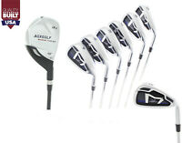 AGXGOLF BOYS RIGHT HAND (CHOOSE LENGTH) MAGNUM IRON SET: #3 HYBRID+5-9 IRONS+PW