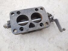 Porsche 356 Zenith Carburetor Throttle Body (Left,Driver Side)