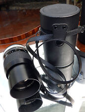 MACCHINA fotografica: HOYA HMC TELE-auto f = 135mm - 1:2 .8 - 52 Lens
