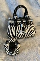 David's Cookie Jar Zebra Purses Large and Small