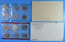New Listing1970 Us Bu Uncirculated 10 Coin Mint Set with Denver Mint Kennedy Half Dollar