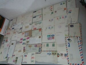 Nystamps China old stamp Air Mail cover collection with better