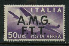 "ITALY TRIESTE ""A""  SCOTT #C6 POSTA AEREA MNH MINT NEVER  HINGE"