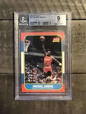 1986 Fleer Michael Jordan Rookie 57 BGS 9 MINT (9.5,9,9,8.5)