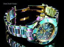 Invicta 47mm Mens Grand Diver Automatic BLACK MOP-Dial IRIDESCENT Bracelet Watch