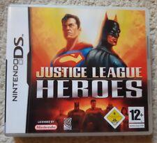 Jeu JUSTICE LEAGUE HEROES - Nintendo DS - Français (PAL) - Complet - Bon état