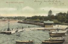 Sydney,NSW,Australia,Man of War Stairs,Park,Used,U.S.,Postage Due,1906