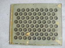 Rare 1950s Glass Malta Polar Mexico Beer Bottle Cap Factory Printing Plate