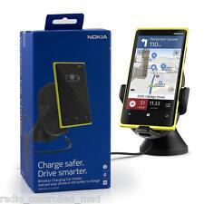 Genuine Rare Qi de carga inalámbrica Nokia CR-200 Universal en Coche Soporte Para Lumia