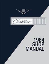 1964 Cadillac OEM Factory Shop Manual