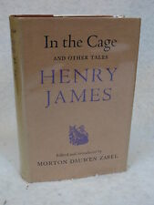 Henry James  IN THE CAGE AND OTHER TALES Rupert Hart-Davis  1958 HC/DJ