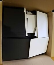 Box of Mount Board Card pieces , Squares and Rectangles ideal for Craft Projects