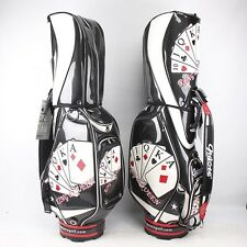 New Guiote Broadway Poker Golf staff bag caddie cart bag comes with Rainhood
