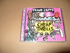 Frank Zappa - Cheap Thrills (1998) cd is excellent