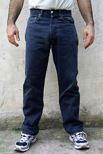 LEVI STRAUSS 451 Standard Straight leg Mens Designer Jeans  Blue Size W32 L31