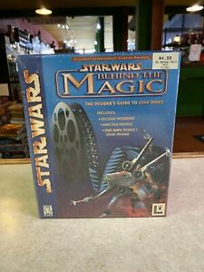 LucasArts Presents Star Wars Behind the Magic ~ CD-Rom for Windows 95 & 98