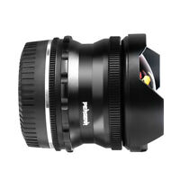 PERGEAR 7.5mm F2.8 Fish Eye Manual Lens For Panasonic Olympus M4/3 Mirrorless