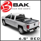 BAK Revolver X2 Hard Rolling Tonneau Bed Cover 20-21 Silverado Sierra 3500 6.5'