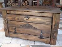 Wooden Shoe Box Cupboard Cabinet Rack Hallway Pine Storage Seating Bench (MT2)