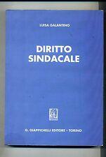 Luisa Galantino # DIRITTO SINDACALE # G. Giappichelli Editore 1994