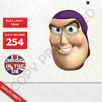 buzz lightyear CARD FACE MASK MASKS FOR PARTY FUN HALLOWEEN FANCY DRESS UP