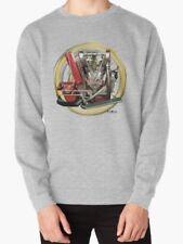 INDIAN HENDEE V-TWIN 1912 Engine Vintage Motorcycle Sweatshirt inished