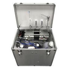 Mobile Portable Dental Turbine Unit Air Compressor Suction System Treatment Fda
