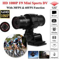 F9 HD 1080P Action Sports Camera Car Bike Motorcycle Helmet DV Video Recorder