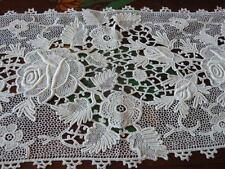 Excelent Irish Antique Lace, 245Cm