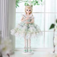 BJD Doll 1/3 Puppen Girls Dolls Face Wig Hair Clothes Makeup Toy Gift FULL SET