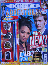 DOCTOR WHO Adventures- Issue 12, 7 - 18 Sept 2006, Free Pencil Erazer Set GIFT