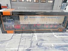 SCANIA LBT 141 Wolter Koops NL 1976 blau Sattelzug Truck LKW Camion IXO 1:43