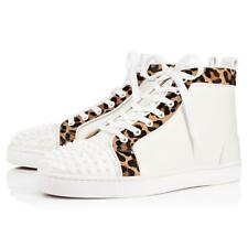 e652b867b7f4 New ListingAUTH NEW MEN CHRISTIAN LOUBOUTIN LOU SPIKE ORLATO PONY HIGH TOP  SNEAKERS US 15