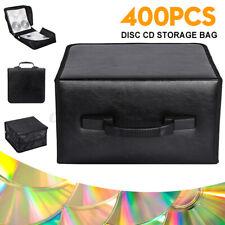 400 CD DVD Disc Storage Carry Case Bag DJ Holder Hard Box Portable Organizer