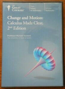 Change and Motion. Calculus Made Clear. DVD. 2nd Edition