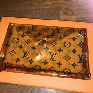 Louis Vuitton PVC Clutch Pouch Bag Clear Rare Genuine