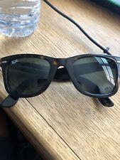 Ray-Ban Wayfarer Sunglasses (Tortoise Shell)