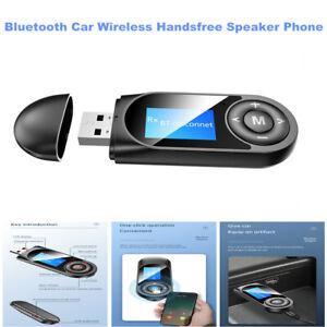 Universal LCD USB Bluetooth Car Wireless Handsfree Speaker In-Car Speakerphone