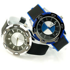 Men's Stainless Steel Dial & Rubber Strap BMW Watch Fashion Men Wristwatch Gift