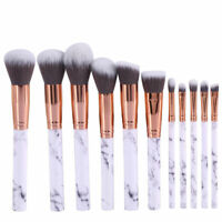 10pcs Makeup Brush Set Foundation Eyeshadow Eyeliner Lip Brushes kit Tool