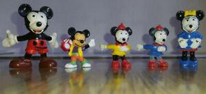 kleine Alte Micki Maus familie - Minni usw