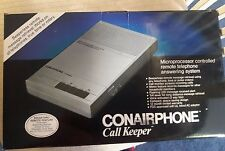 Vintage ConairPhone Call Keeper Telephone Answering System, Model TAD1800B,New