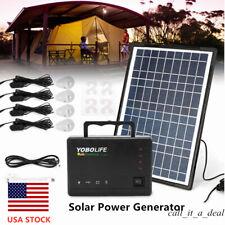 Solar Power Generator Inverter Energy Storage Power Supply Machine Usb Charging