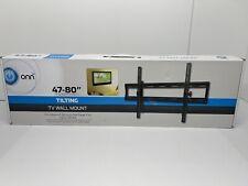 "ONN 47-80"" TILTING TV WALL MOUNT (NEW) OPEN BOX PACKAGING NEVER OPENED"